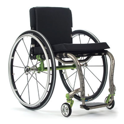 TiLite ZRA wheelchair