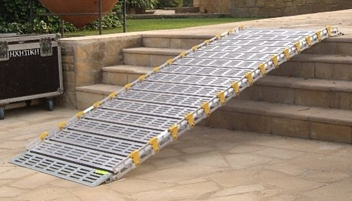 """photo of portable ramp - 30"""" wide from Roll-A-Ramp"""