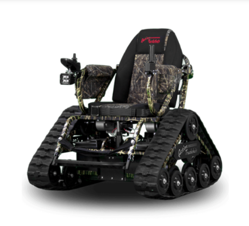 Action Trackchair ST camo model on white background