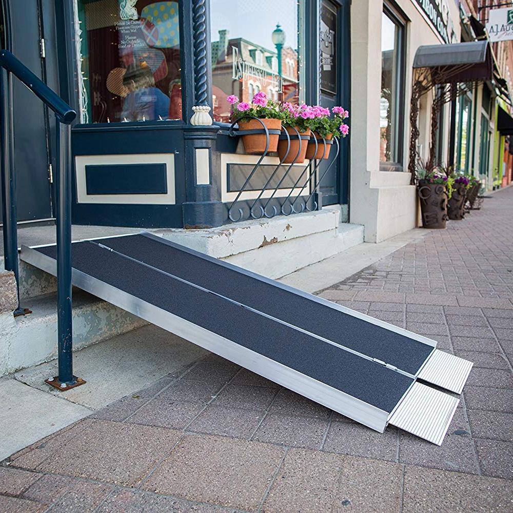 Portable wheelchair ramps