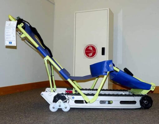 photo of the powertrac chair