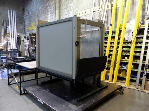 portable vertical wheelchair lift