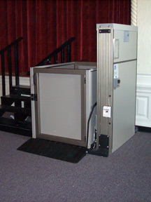 Genesis Staage lift installed in a school